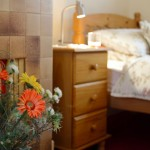old coach house twin bedroom